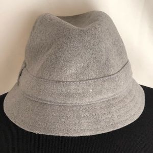 Gap gray fedora